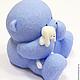 Мыло ручной работы. Мыло Мишка с игрушкой. Юлия (dushamila). Ярмарка Мастеров. Мишка ручной работы, мыло сувенирное