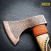 Ножи ручной работы. Ярмарка Мастеров - ручная работа Топор Харабали - 1 Подарок для мужчины. №11. Handmade.