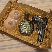 """Косметика ручной работы. Ярмарка Мастеров - ручная работа набор мыла  """"Для настоящего мужчины"""". Handmade."""