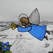Для дома и интерьера ручной работы. Ярмарка Мастеров - ручная работа Интерьерная подвеска  Ангел Перелётный. Handmade.