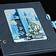 """Фотоальбомы ручной работы. Ярмарка Мастеров - ручная работа. Купить Фотоальбом """"Мишки Тедди"""". Handmade. Синий, фотоальбом для девочки"""