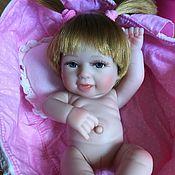 Куклы и игрушки ручной работы. Ярмарка Мастеров - ручная работа Младенчик малышка Дашенька с приданным. Handmade.