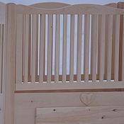 Для дома и интерьера handmade. Livemaster - original item Cot made of natural wood cedar is a Healthy baby. Handmade.