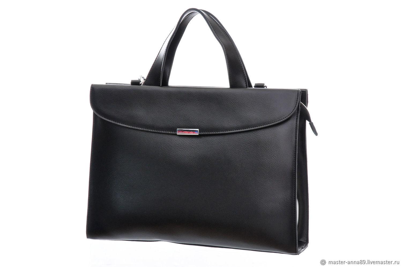 768d4072fa66 Женские сумки ручной работы. Ярмарка Мастеров - ручная работа. Купить  Женская черная кожаная сумка ...