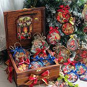 """Подарки к праздникам ручной работы. Ярмарка Мастеров - ручная работа Набор игрушек в коробе """"Забавные детки"""". Handmade."""