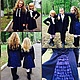"""Одежда для девочек, ручной работы. Школьная форма  """"Гимназисточка и рюши"""". Yansons Domik (yansonsdomik). Ярмарка Мастеров. Платье для девочки, yansons"""