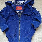 Куртки ручной работы. Ярмарка Мастеров - ручная работа Куртка замшевая детская. Handmade.