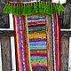 """Текстиль, ковры ручной работы. Заказать Бабушкин коврик """"Разноцветный"""". Просто Счастье. Ярмарка Мастеров. Коврик ручной работы, модный"""