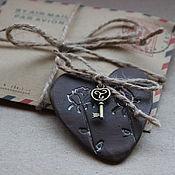 Сувениры и подарки ручной работы. Ярмарка Мастеров - ручная работа Сердце Послание в конверте. Handmade.