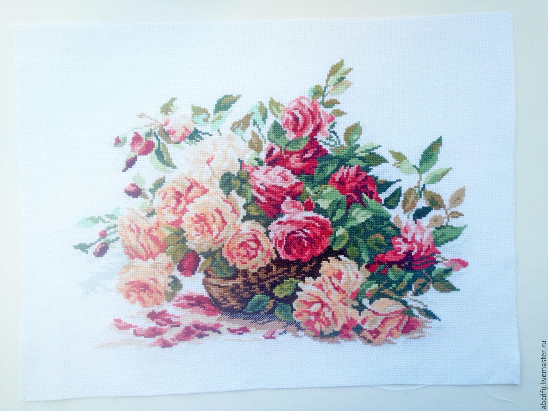 Схемы вышивки крестом бесплатно скачать Цветы, букеты 26