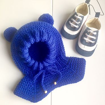 Clothing handmade. Livemaster - original item Merino helmet. Handmade.