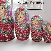 """Русский стиль handmade. Livemaster - original item Matryoshka """" Summer """"5 m. Handmade."""