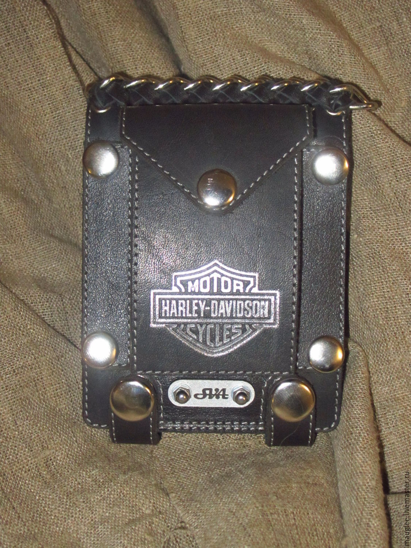 Purse Wallet for belt Harley Davidson – shop online on Livemaster ...