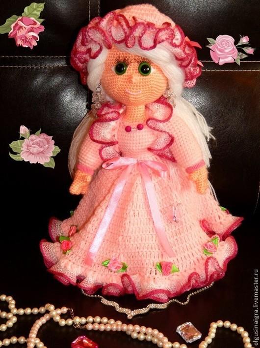 Человечки ручной работы. Ярмарка Мастеров - ручная работа. Купить Кукла Lady Alla. Handmade. Бледно-розовый, кукла интерьерная