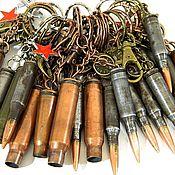 Сумки и аксессуары handmade. Livemaster - original item Key chain in the form of a cartridge