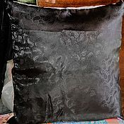 """Для дома и интерьера ручной работы. Ярмарка Мастеров - ручная работа Наволочка в азиатском стиле """"Приумножение"""". Вышивка. Handmade."""