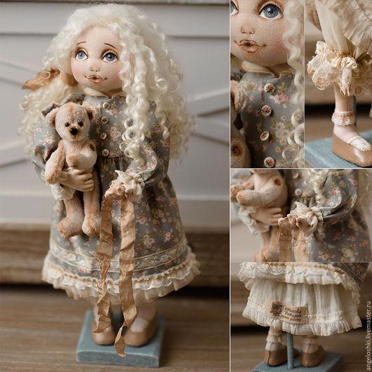 Коллекционные куклы ручной работы. Ярмарка Мастеров - ручная работа. Купить Детство. Авторская текстильная кукла. Handmade. Комбинированный