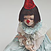 Куклы и игрушки ручной работы. Ярмарка Мастеров - ручная работа JooDella маленький клоун. Handmade.