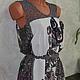 """Платья ручной работы. Ярмарка Мастеров - ручная работа. Купить Платье - туника """"Пейсли и ромбы"""". Handmade. Цветочный, платье, вискоза"""