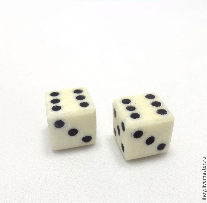 Купить Кубики из слоновой кости - игральные кости, кубики, зарики IA76