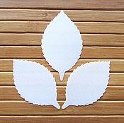 Материалы для творчества handmade. Livemaster - original item sheet roses, cutting 10 pcs, satin. Handmade.