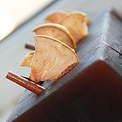 """Косметика ручной работы. Ярмарка Мастеров - ручная работа Глицериновое натуральное мыло с нуля """"Яблоко и корица"""". Handmade."""