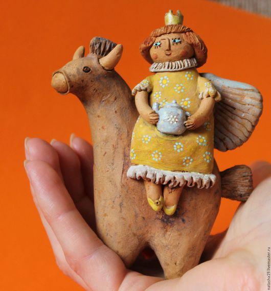 """Миниатюрные модели ручной работы. Ярмарка Мастеров - ручная работа. Купить """"К принцу на чай"""". Handmade. Комбинированный, душевный подарок"""