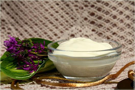Крем для жирной кожи Лавандовый. Крем с коллагеном и эластином