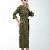 Одежда handmade. Livemaster - original item Woolen dress