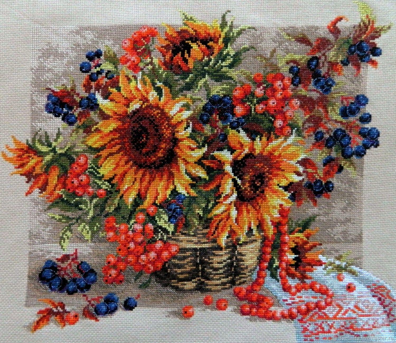 Осенний букет, Картины, Кронштадт,  Фото №1