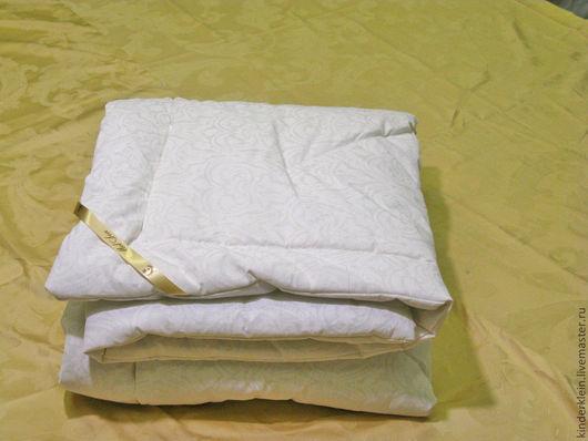 Пледы и одеяла ручной работы. Ярмарка Мастеров - ручная работа. Купить Одеяло с бамбуковым наполнителем детское. Handmade. Белый