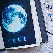 Канцелярские товары handmade. Livemaster - original item Softbook in space. Handmade.