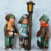 handmade. Livemaster - original item Cotton Christmas decorations handmade.. Handmade.