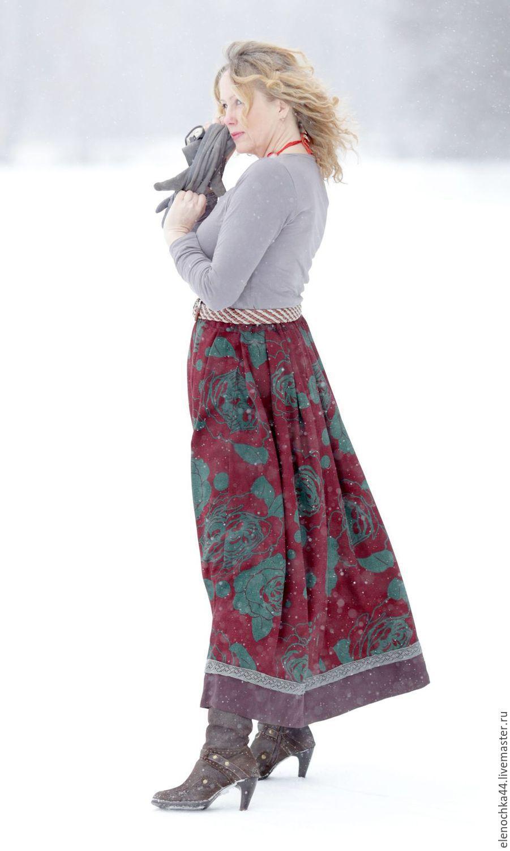 Длинная юбка купить интернет магазин