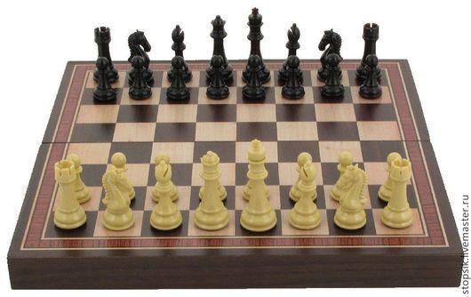 Настольные игры ручной работы. Ярмарка Мастеров - ручная работа. Купить Шахматы Каспаров (15 на 30 см) 6037). Handmade.