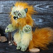Куклы и игрушки handmade. Livemaster - original item Looking for a home! Guardian-Maxi, Fox Freckles. Handmade.