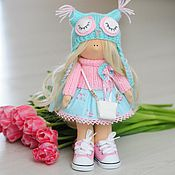Куклы и игрушки ручной работы. Ярмарка Мастеров - ручная работа куколка совушка. Handmade.