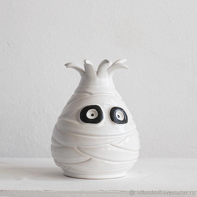 Ceramic vase ' Mummy', Vases, Vyazniki,  Фото №1