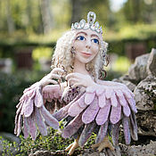 Куклы и игрушки ручной работы. Ярмарка Мастеров - ручная работа Райская птица Алконост. Handmade.