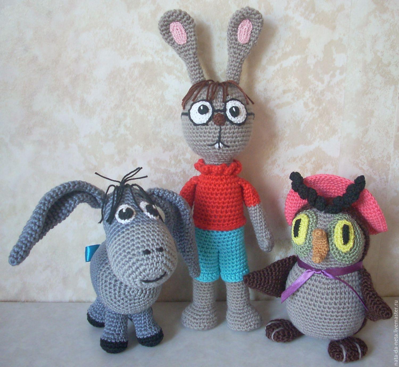 Вязание игрушек из мультфильмов крючком
