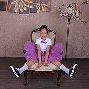 Работы для детей, ручной работы. Ярмарка Мастеров - ручная работа Пышная юбочка американка на заказ. Handmade.