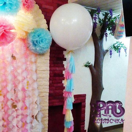 Персональные подарки ручной работы. Ярмарка Мастеров - ручная работа. Купить Огромные воздушные шары - мечты детства. Handmade. Разноцветный