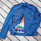 Одежда handmade. Livemaster - original item Jacket made of genuine leather. Women`s leather jacket. Handmade.