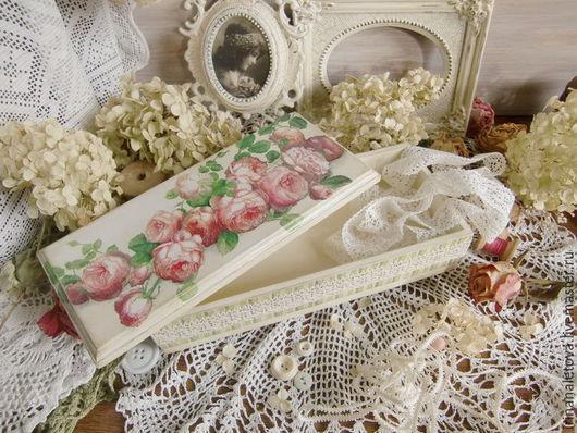 Шкатулка декупаж, шкатулка для украшений, шкатулка для женщины, шкатулка в подарок, декупаж Ирины Налетовой