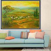 Картины и панно ручной работы. Ярмарка Мастеров - ручная работа Тоскана. Handmade.