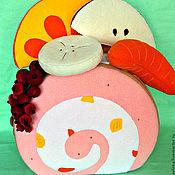 Для дома и интерьера ручной работы. Ярмарка Мастеров - ручная работа Детская подушка-игрушка Пирожное-2. Handmade.