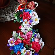 """Цветы и флористика ручной работы. Ярмарка Мастеров - ручная работа Парящая чашка """"Маки """". Handmade."""