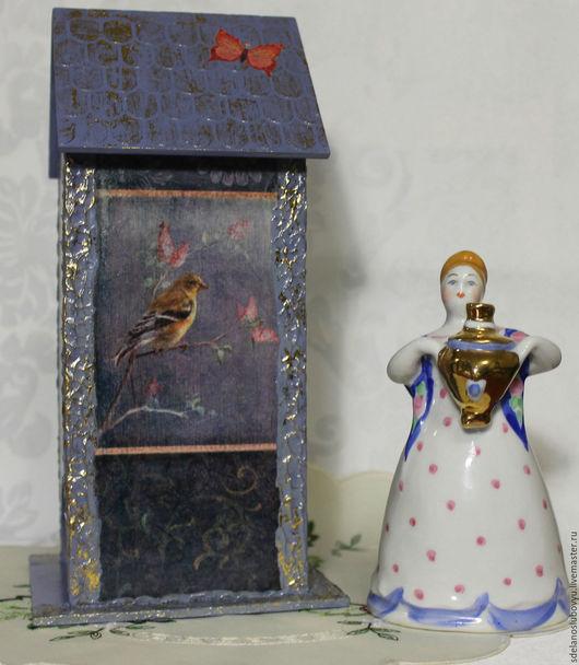 """Кухня ручной работы. Ярмарка Мастеров - ручная работа. Купить Чайный домик """"Винтажные птицы"""". Handmade. Чайный домик, чай"""