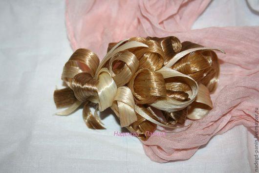 Заколки ручной работы. Ярмарка Мастеров - ручная работа. Купить Заколка из искусственных волос, постиж  №33. Handmade. Заколка для волос