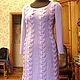 Dress 'Russkaya Kosa'. Dresses. Knitting from Lyudmila Makarova. My Livemaster. Фото №4